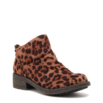 Tami Leopard Ankle Boot