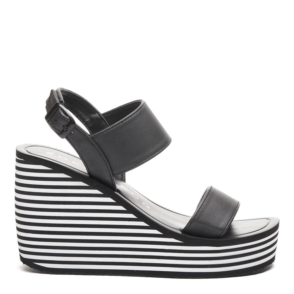 Tampico Tampico Wedge Black Wedge Black Sandal Sandal Tampico WD2H9EI