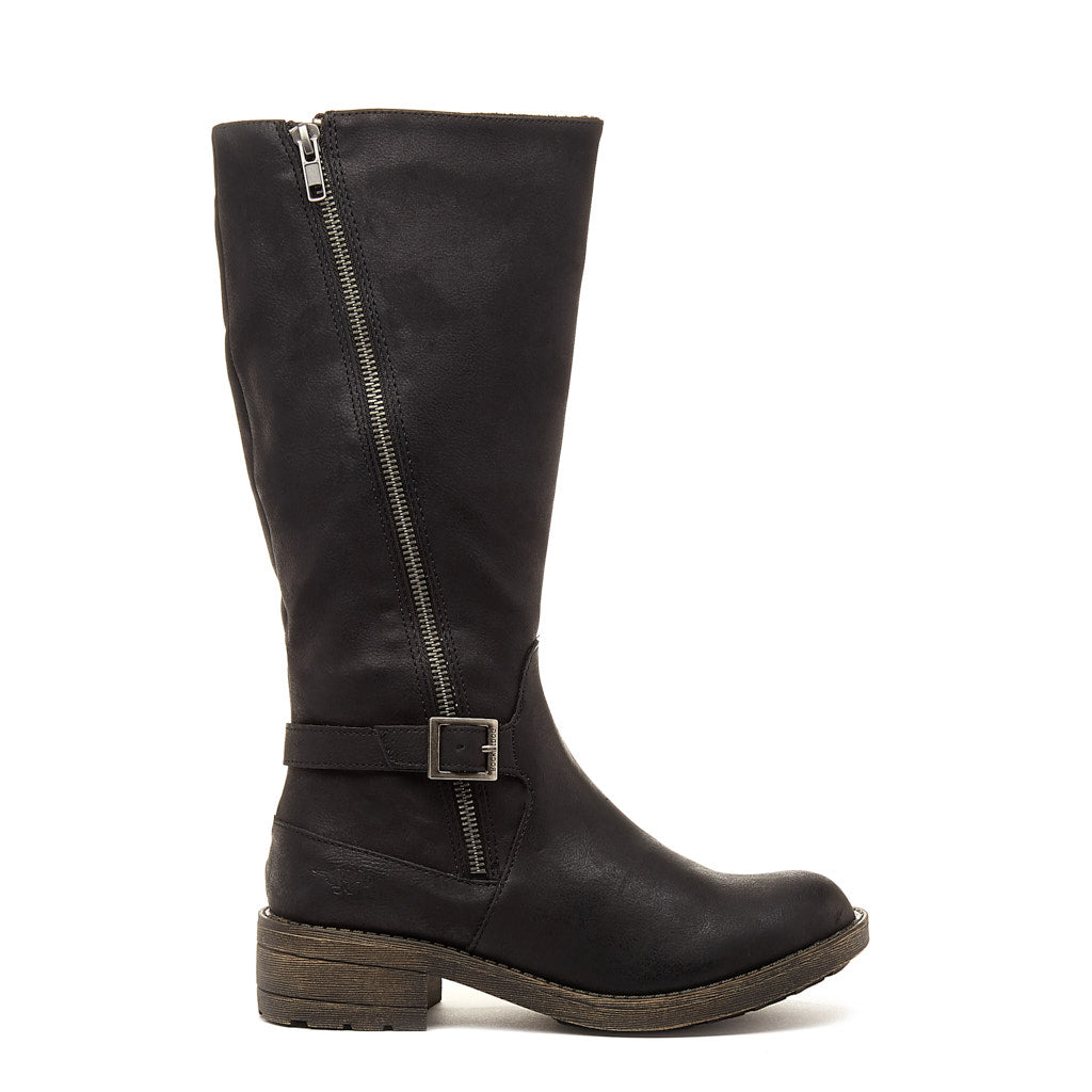 Tanker Black Biker Boot