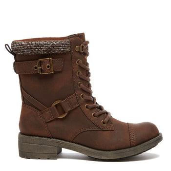 Thunder Brown Pico Biker Boot