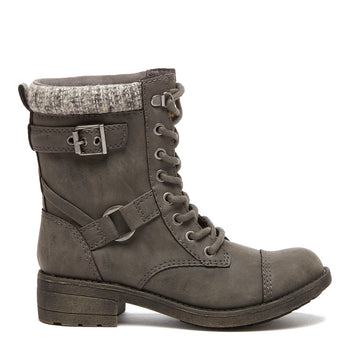 Thunder Grey Heirloom Biker Boot