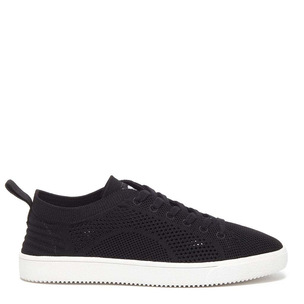Tibor Black Knitted Trainer