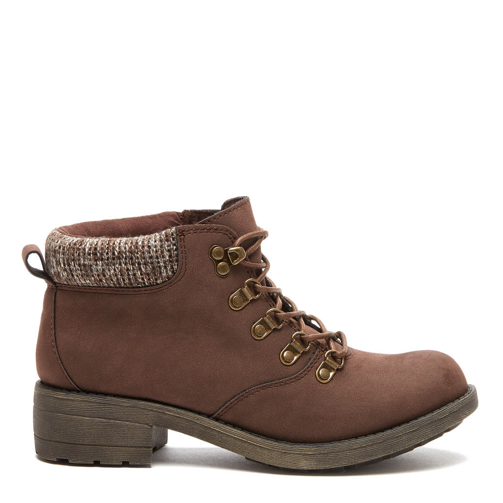 Train Brown Ankle Boot
