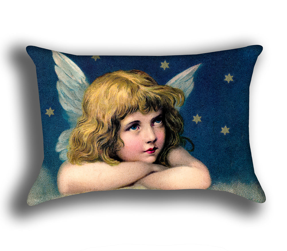 Vintage Angel — Accent Pillow