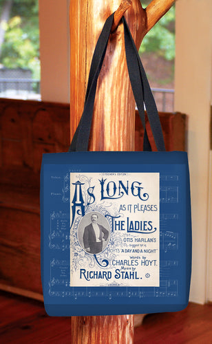 As Long As It Pleases The Ladies — Basic Tote Bag