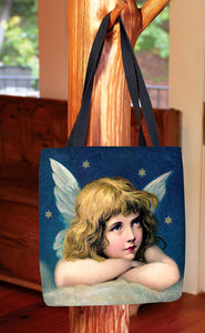 Vintage Angel — Basic Tote Bag