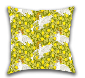 Oooh, Cockatoo! — Accent Pillow
