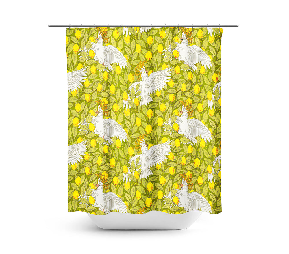 Oooh, Cockatoo!— Shower Curtain
