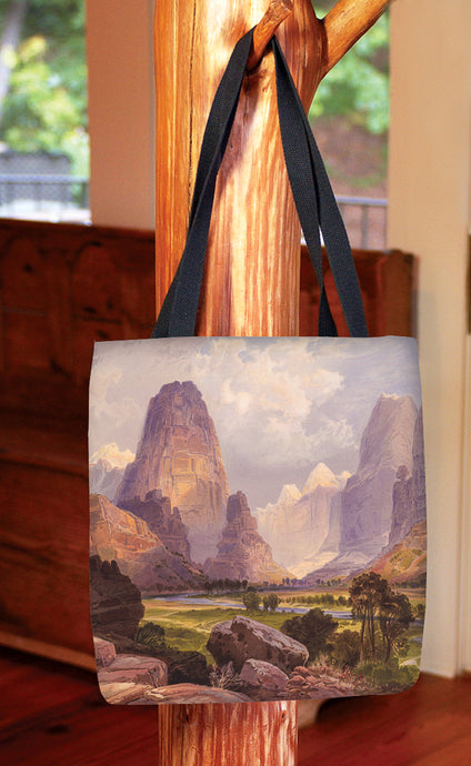 Moran Valley of the Bubbling Waters — Basic Tote Bag
