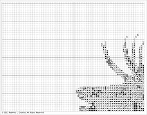 Autumn's Call (Elk) Counted Cross Stitch Pattern PDF