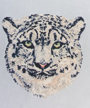 Snow Leopard Counted Cross Stitch Pattern PDF