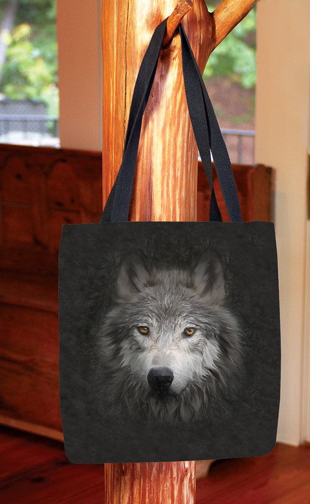 Wolf Face — Basic Tote Bag
