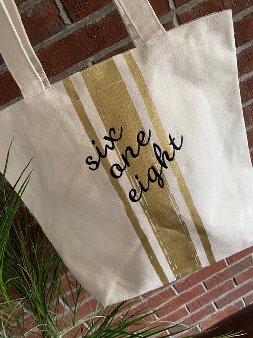 Six One Eight Tote