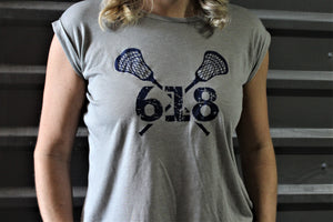 618 Lacrosse Ladies Tee