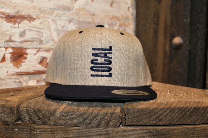Local Flat Bill Navy