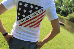 618 Flag Tee Youth