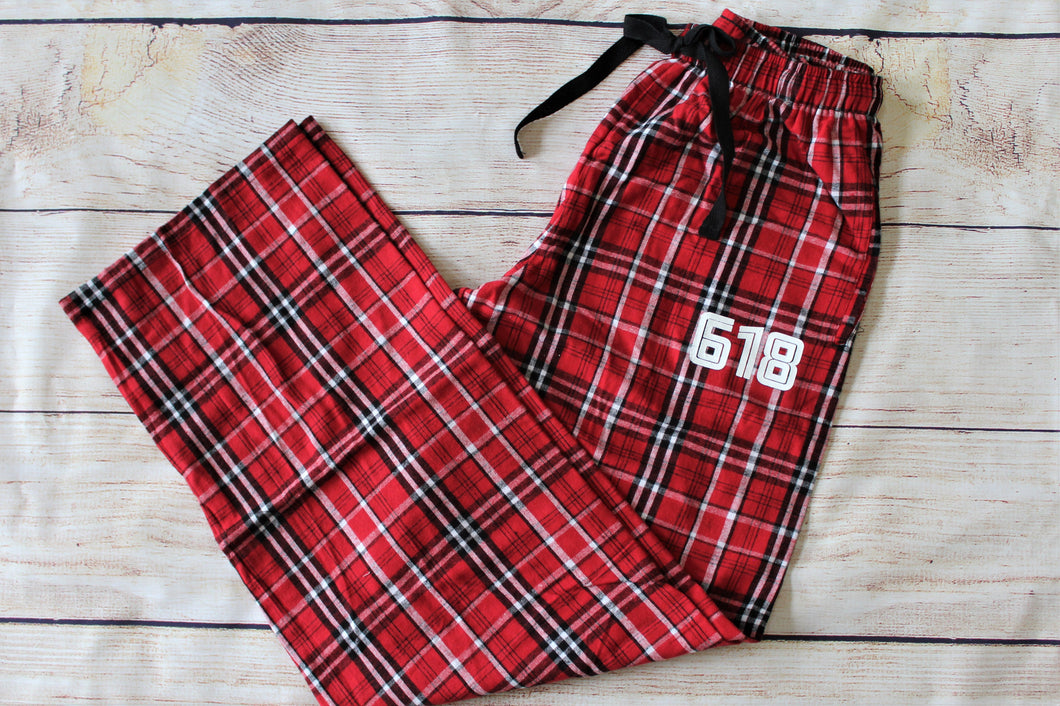 Cozy Pant Red Plaid