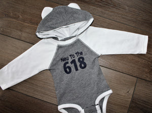 New To The 618 LS Onesie