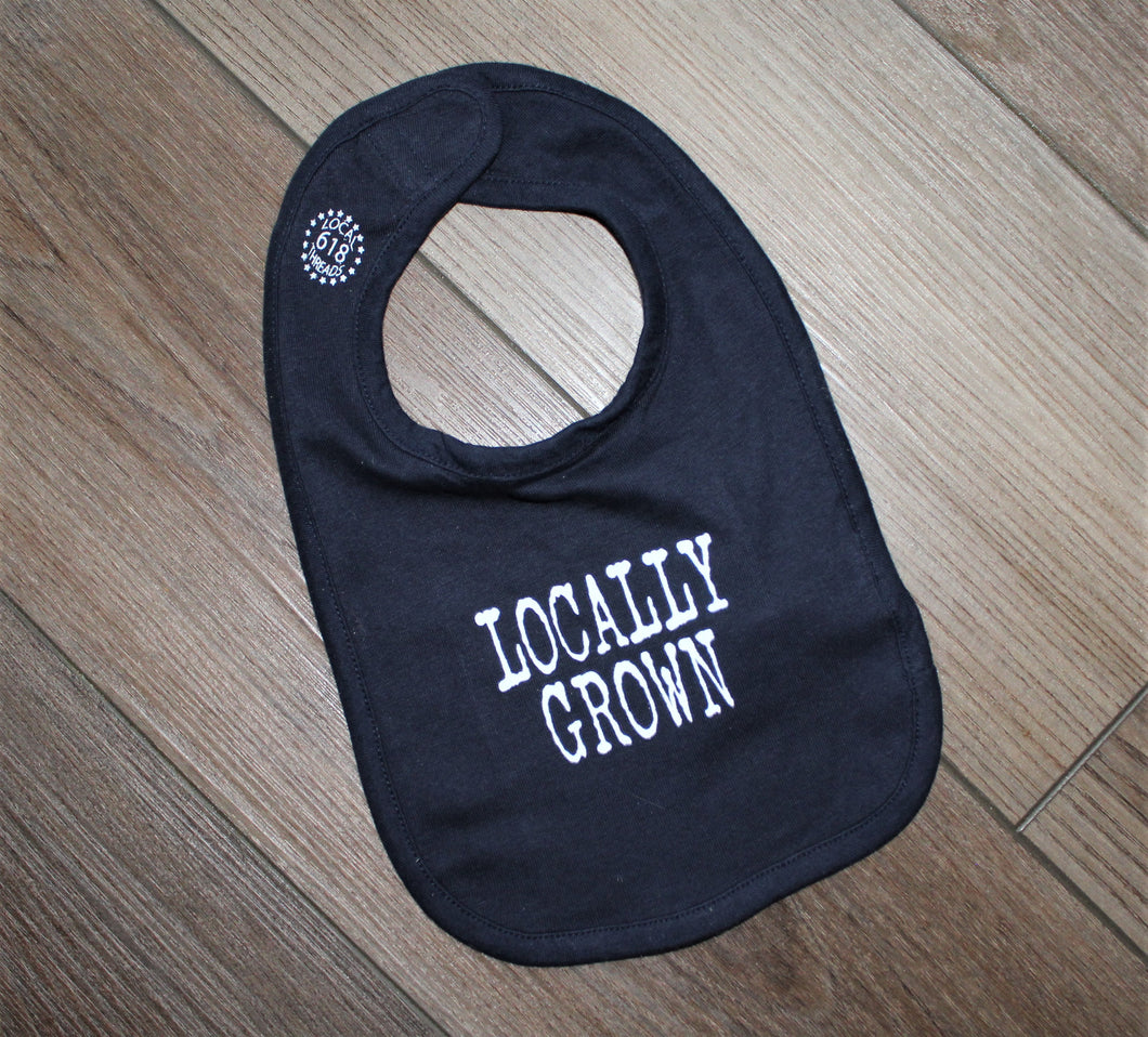 Locally Grown Baby Bib
