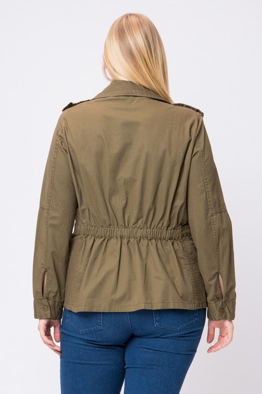 Army Green Utility Jacket