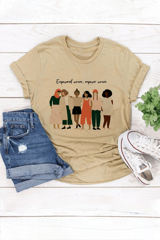 Empower Women Graphic T-Shirt