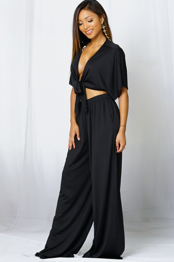 Black 2 Piece Set
