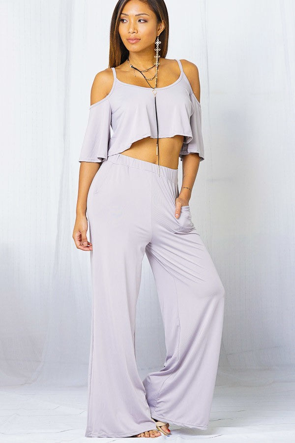 Grey 2 Piece Set