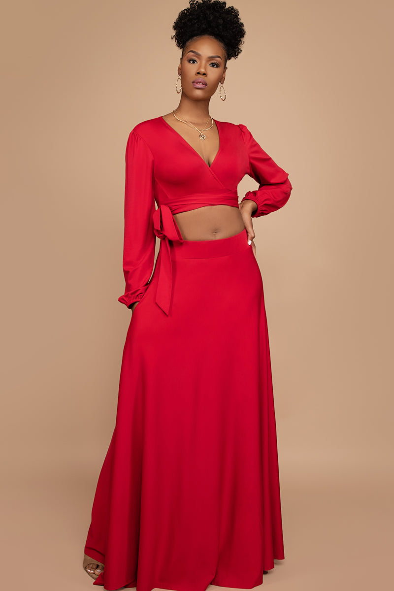Nadia Two-Piece Skirt Set