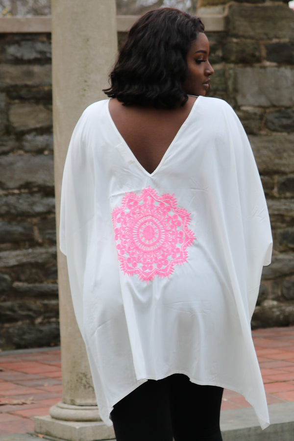 White Kaftan Top