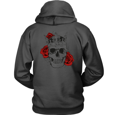 Classic Skull and Roses