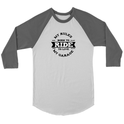 Your Rules Raglan Tee