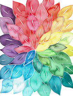 Rainbow Leaf Burst