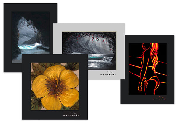 Walfrido Matted Prints