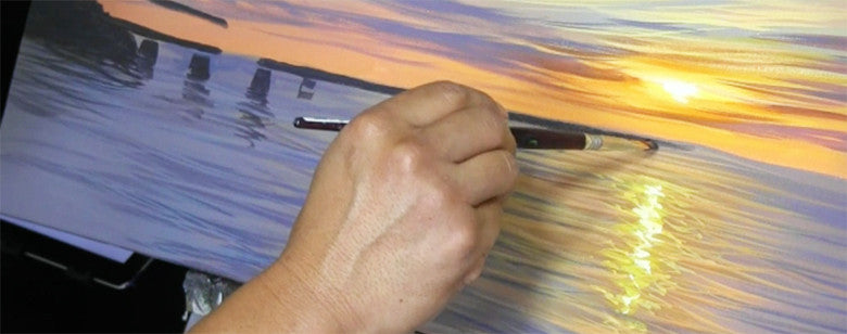 Art Made Easy art Painting Tutorial Videos by tropical hawaii artist Walfrido