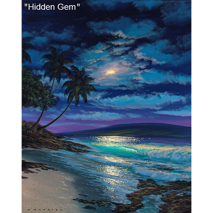 Hidden Gem - Original Oil Painting by Walfrido