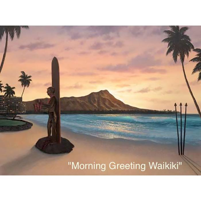 Morning Greeting Waikiki
