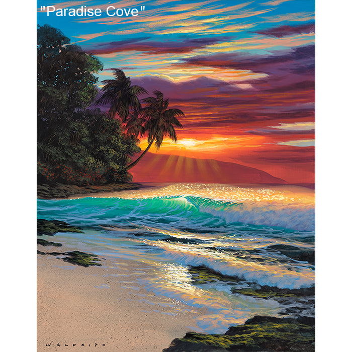 Paradise Cove - Original Oil Painting by Walfrido