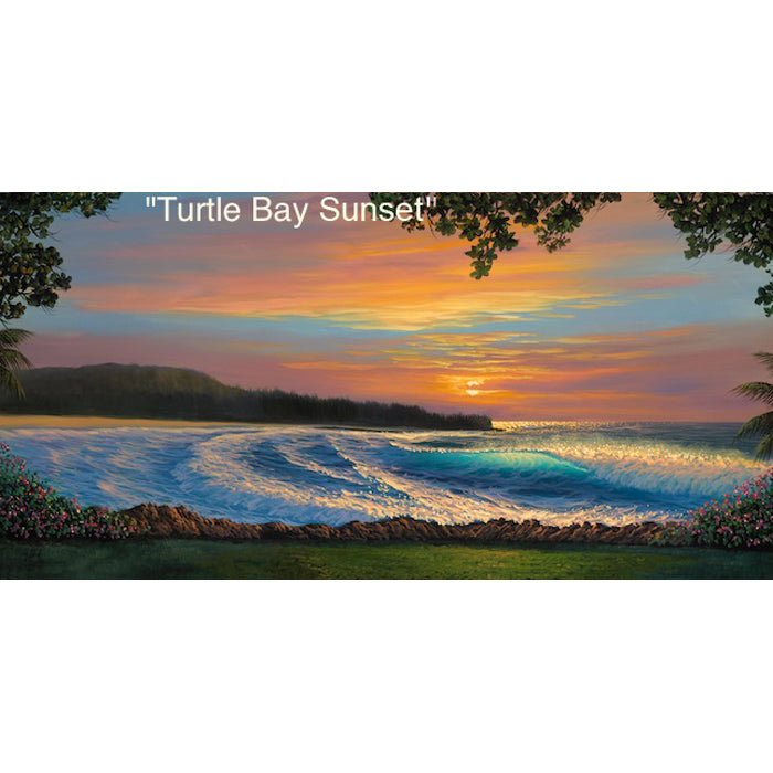 Turtle Bay Sunset by Walfrido