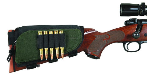 Adjustable Rifle Buttstock Shell Holder