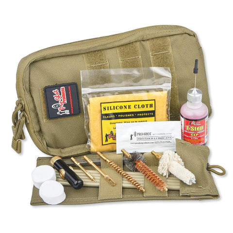 Tactical Pouch Cleaning Kits - Coyote