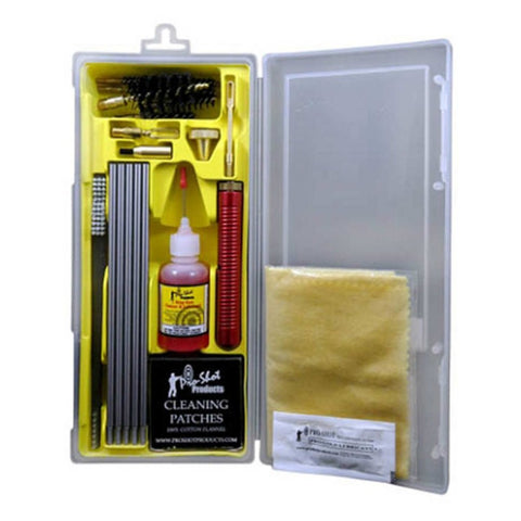 UNIVERSAL. 22 Cal. Thru 12 GA Box Cleaning Kit