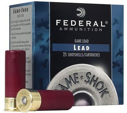 12 Gauge Game-Shok Upland Hi-Brass Shotshell