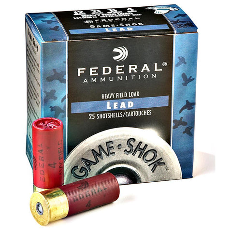 12 Gauge Game-Shok Upland Heavy Field Shotshell