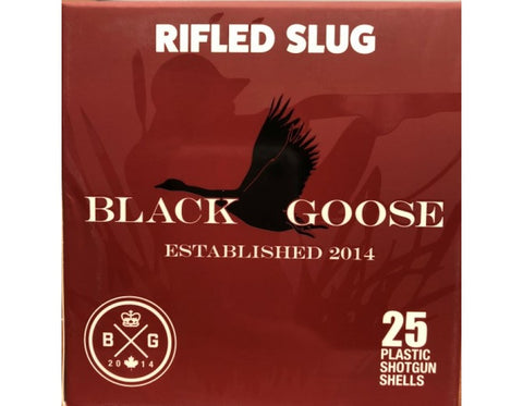 Black Goose 12 Gauge 2 3/4 1.1/8 Rifled Slug