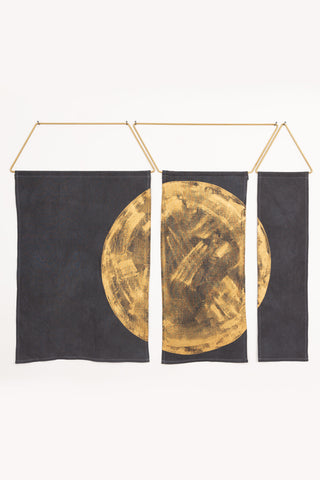 Ballena in Charcoal and Gold