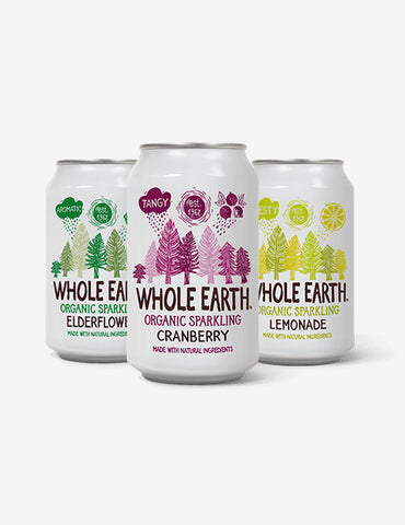 Whole Earth -luomulimonadit