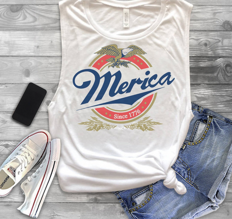 america, usa, tank, tank top, Memorial Day, clothes
