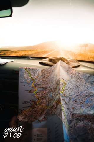 road trip, adventure, map