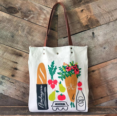 reusable tote, grocery shopping, bag, recycle