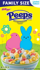 peeps, easter, cereal, breakfast